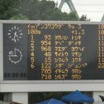 第17回 江東区ナイター陸上競技大会。2度目の22秒台!