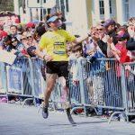 股義足、フルマラソン完走!また示された可能性。