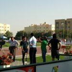 UAE一試合目(シャルジャ)第二日目。股義足ランナー世界デビュー!